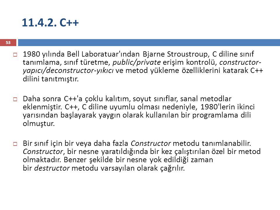11.4.2. C++