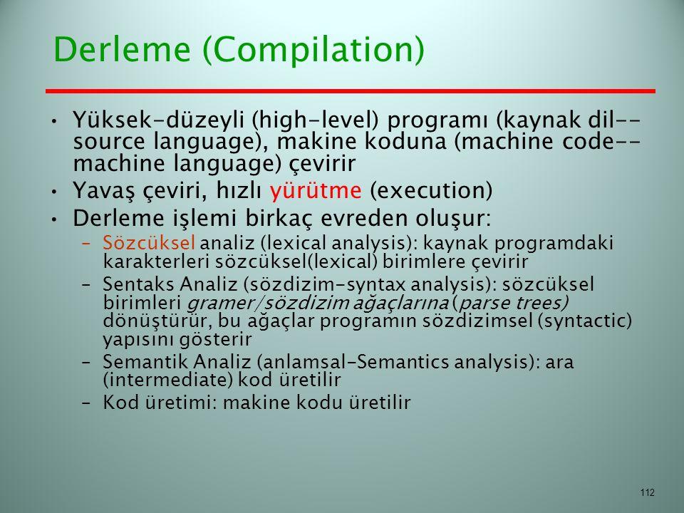 Derleme (Compilation)