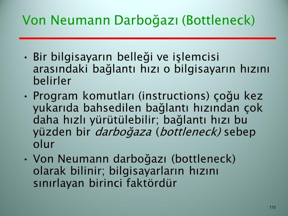 Von Neumann Darboğazı (Bottleneck)