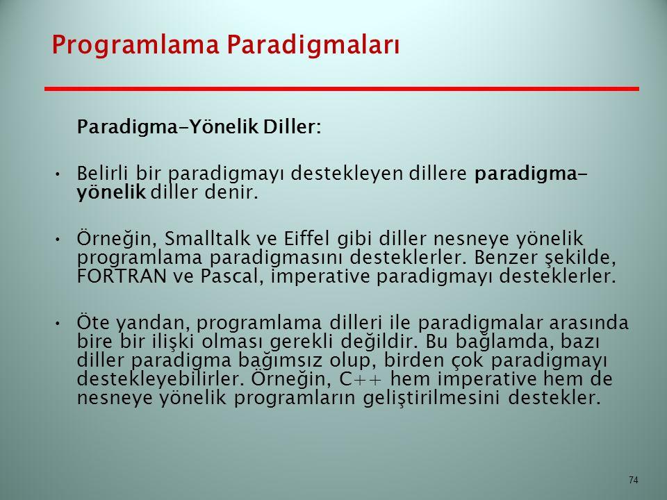 Programlama Paradigmaları