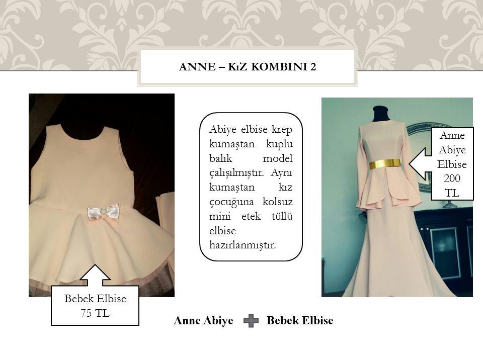 Anne Abiye Bebek Elbise