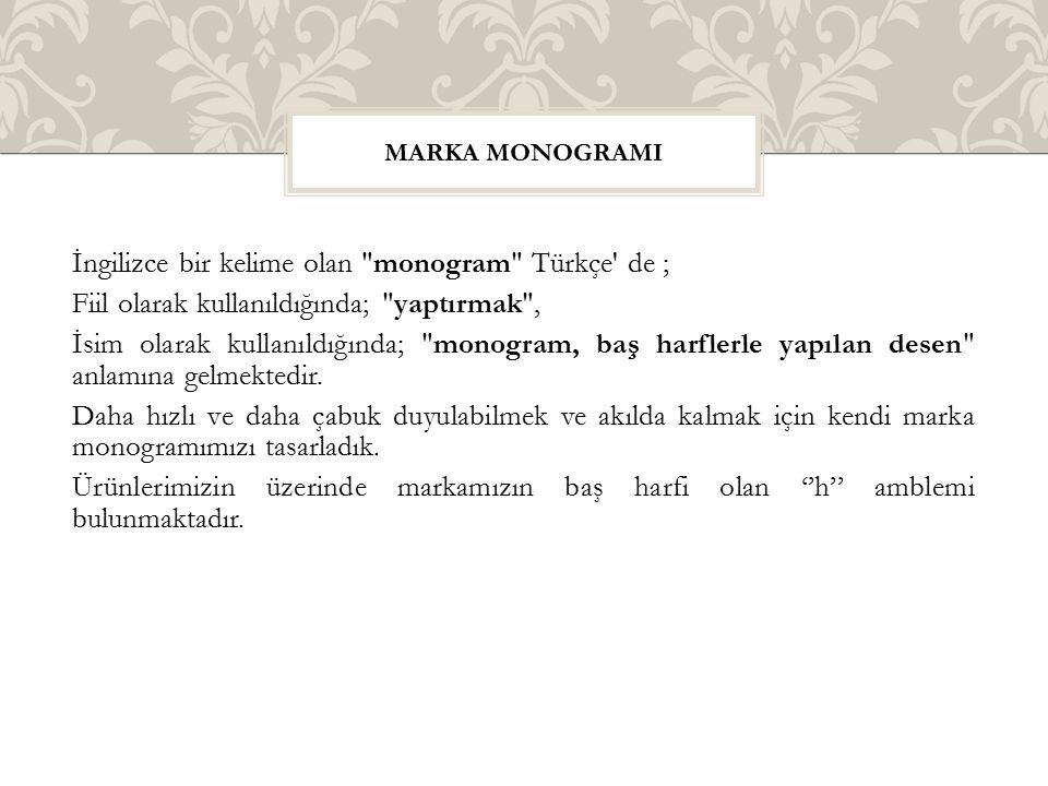 Marka monogramI