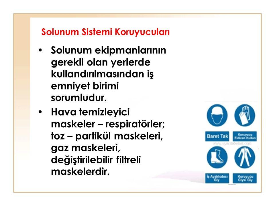 Solunum Sistemi Koruyucuları