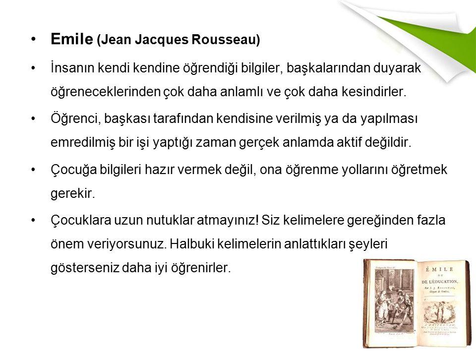 Emile (Jean Jacques Rousseau)