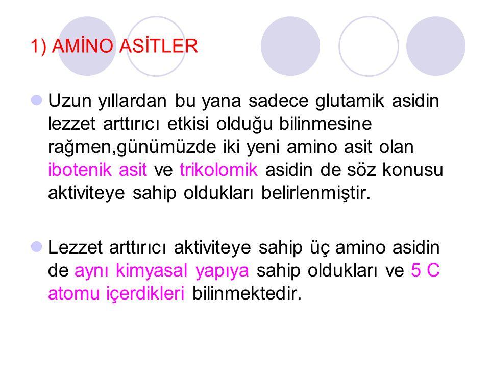 1) AMİNO ASİTLER