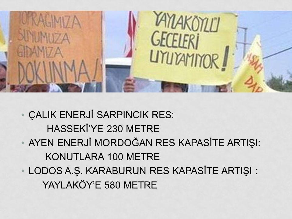 ÇALIK ENERJİ SARPINCIK RES: