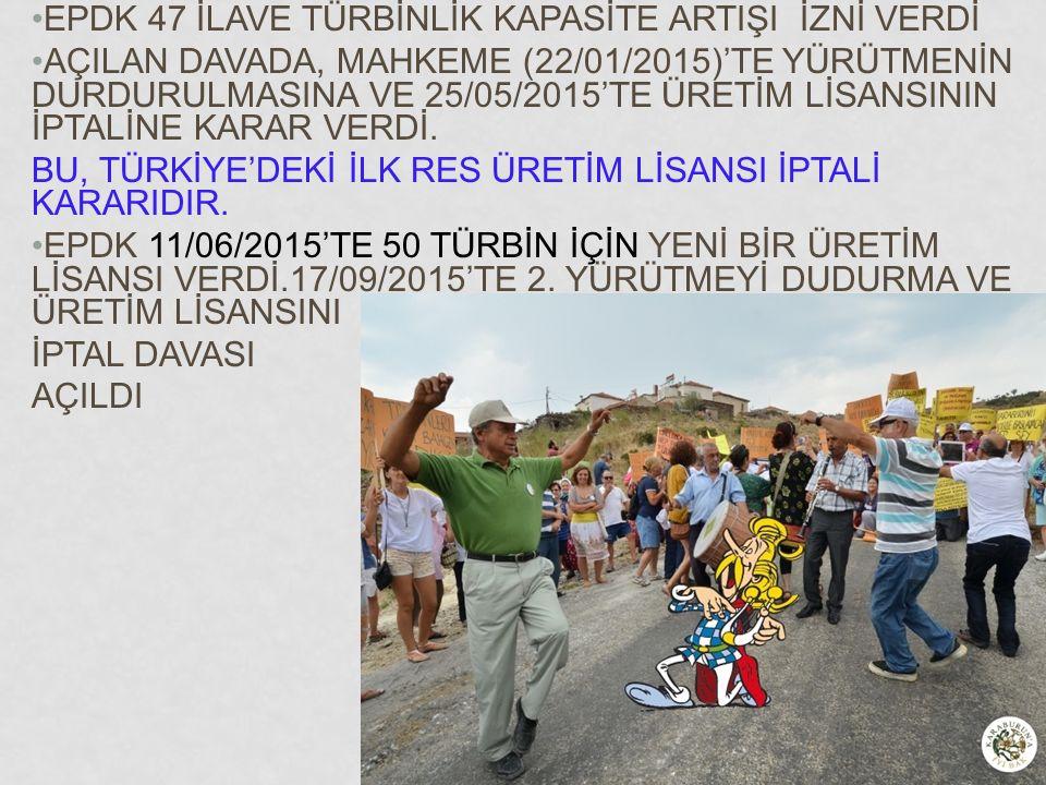 EPDK 47 İLAVE TÜRBİNLİK KAPASİTE ARTIŞI İZNİ VERDİ