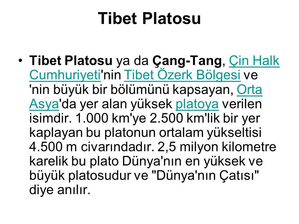 Tibet Platosu