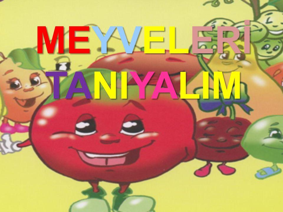 MEYVELERİ TANIYALIM