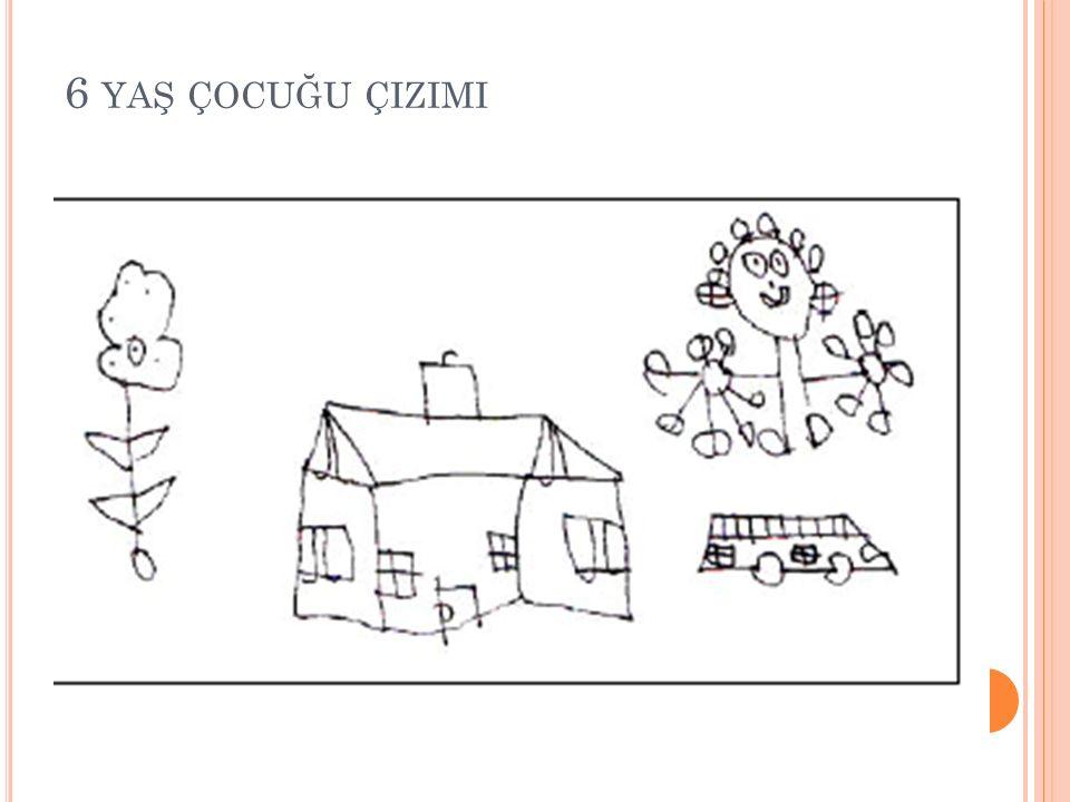6 yaş çocuğu çizimi