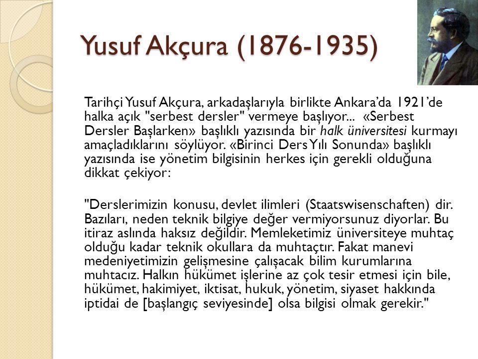 Yusuf Akçura (1876-1935)