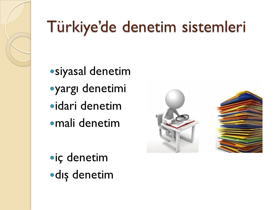 Türkiye'de denetim sistemleri