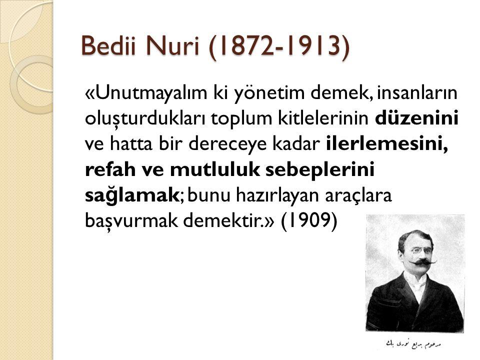 Bedii Nuri (1872-1913)