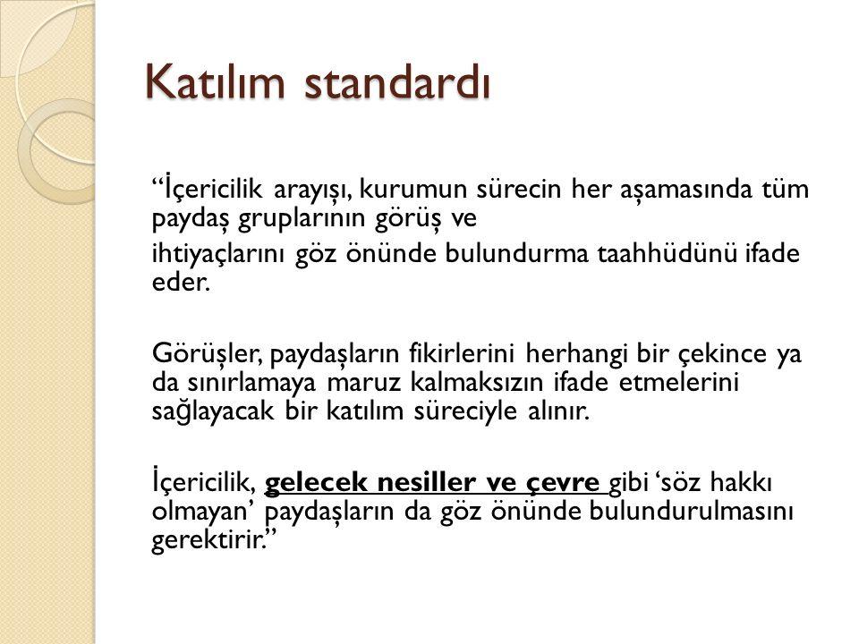 Katılım standardı