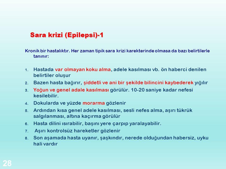 Sara krizi (Epilepsi)-1