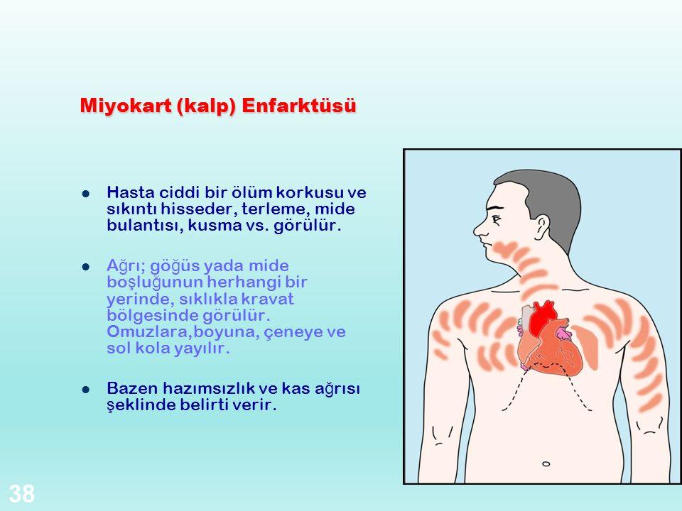 Miyokart (kalp) Enfarktüsü