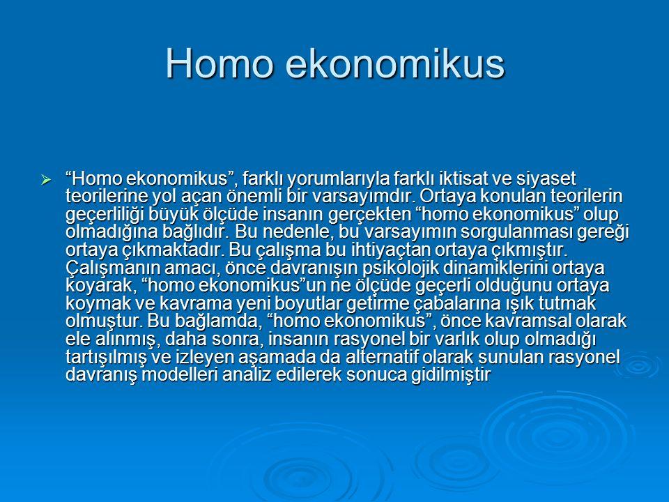 Homo ekonomikus