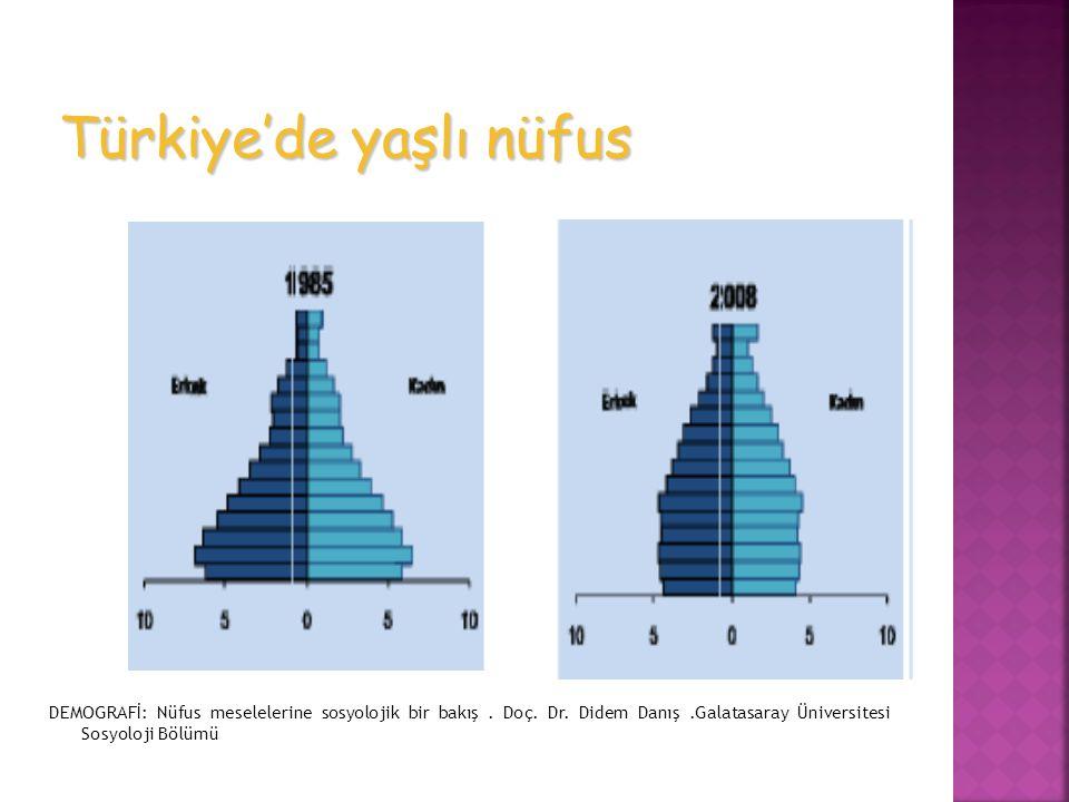 Türkiye'de yaşlı nüfus