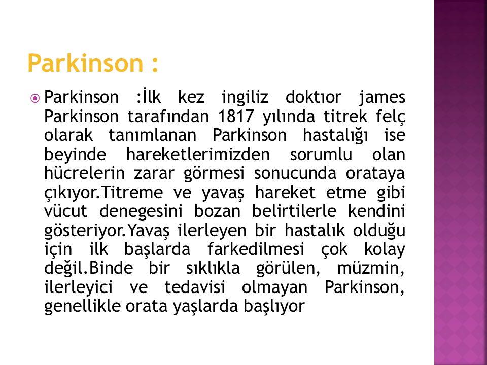 Parkinson :
