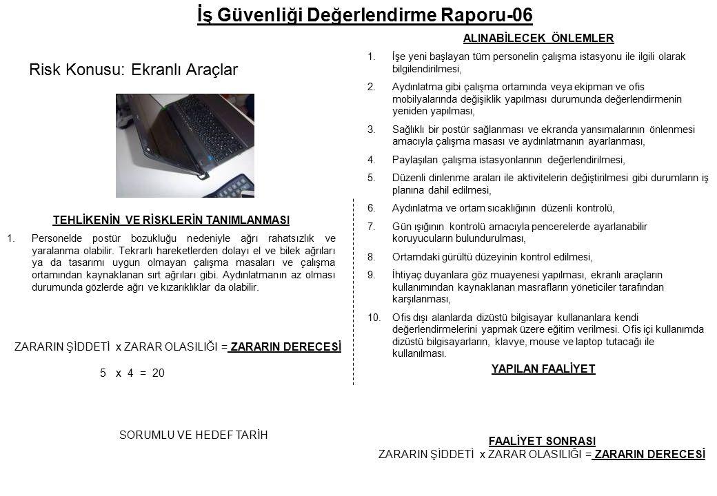 İş Güvenliği Değerlendirme Raporu-06