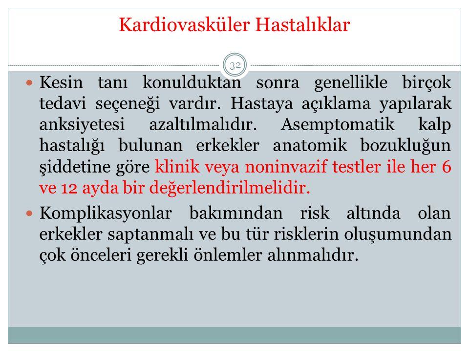 Kardiovasküler Hastalıklar