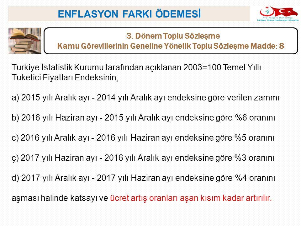ENFLASYON FARKI ÖDEMESİ