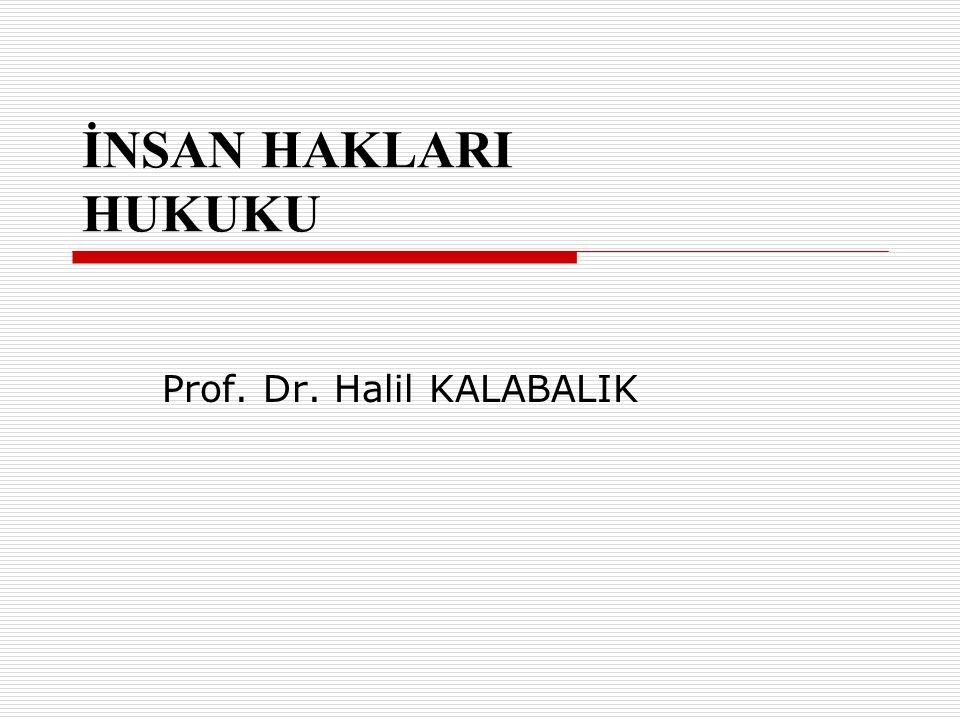 Prof. Dr. Halil KALABALIK