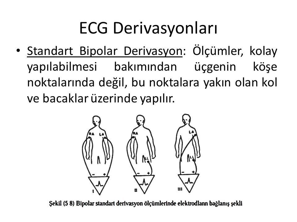 ECG Derivasyonları