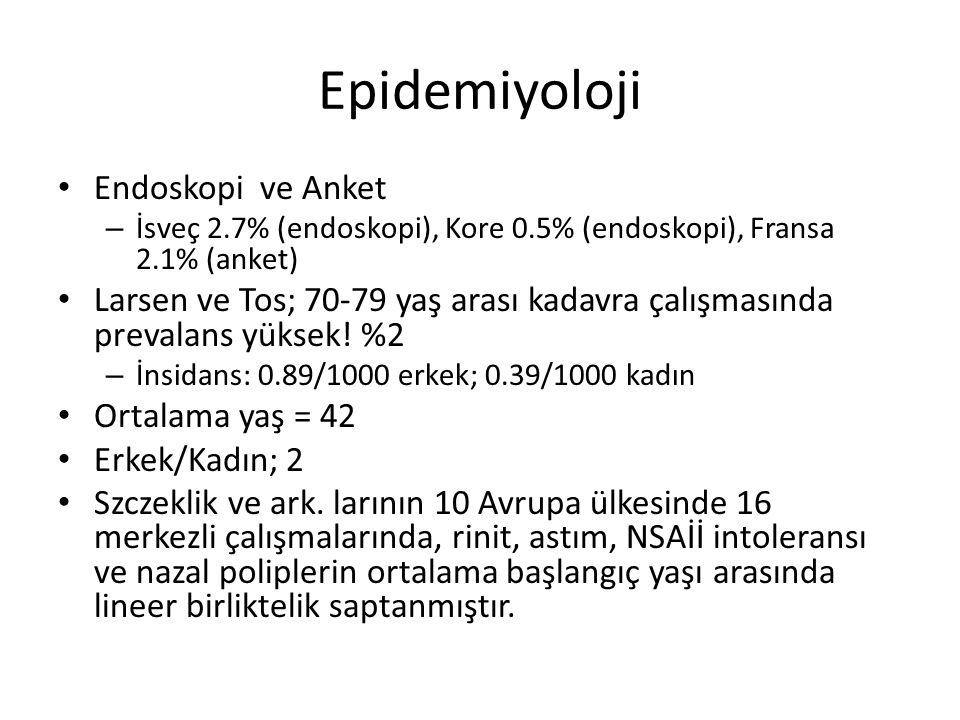 Epidemiyoloji Endoskopi ve Anket