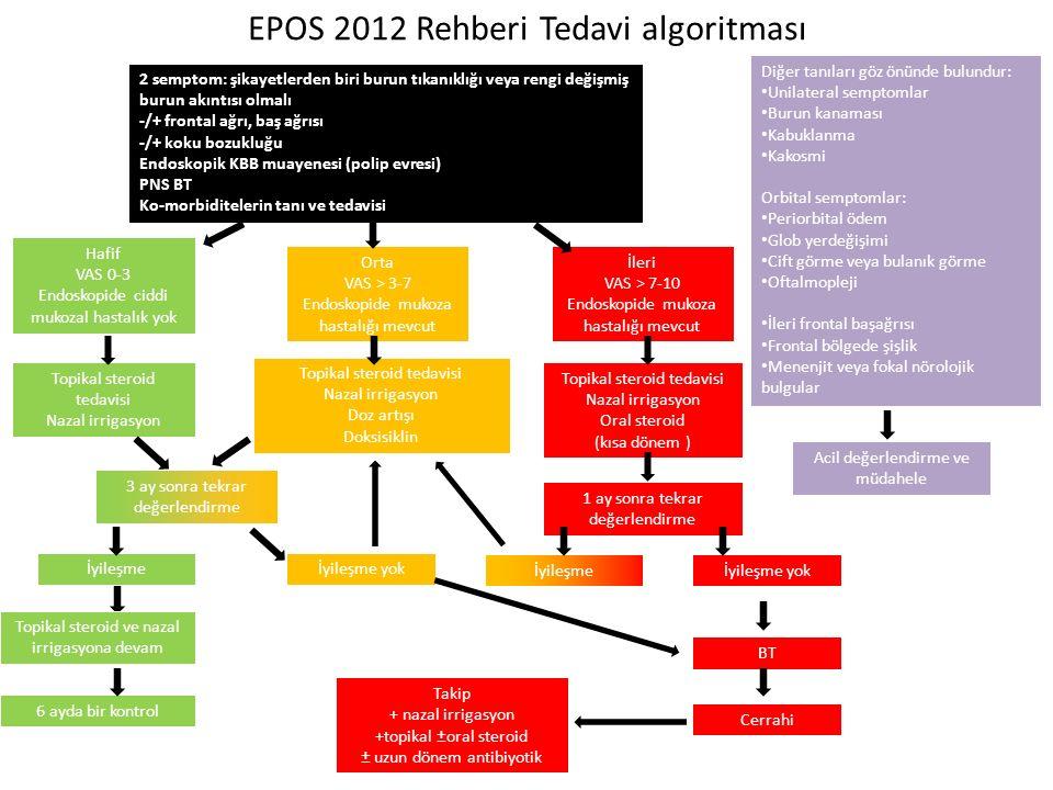EPOS 2012 Rehberi Tedavi algoritması