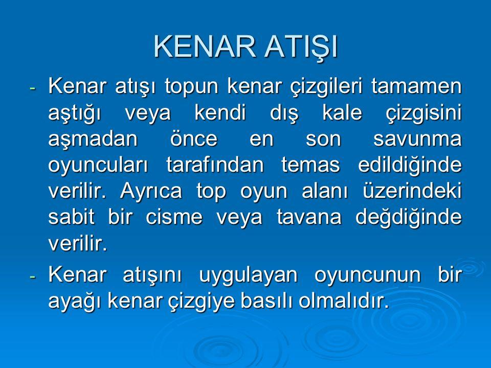KENAR ATIŞI