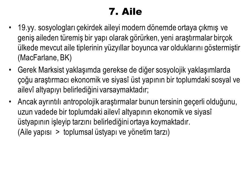 7. Aile