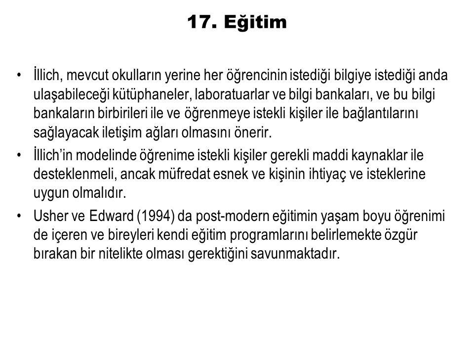 17. Eğitim