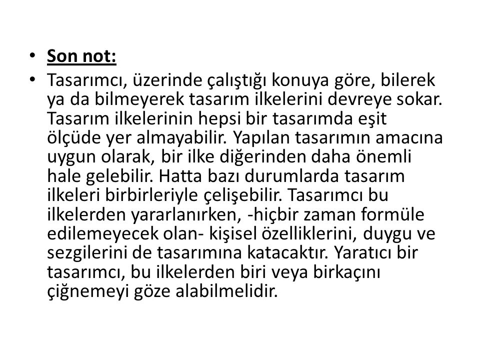Son not: