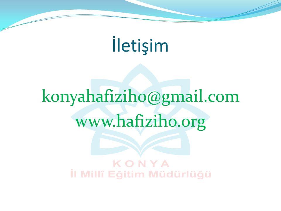 konyahafiziho@gmail.com www.hafiziho.org