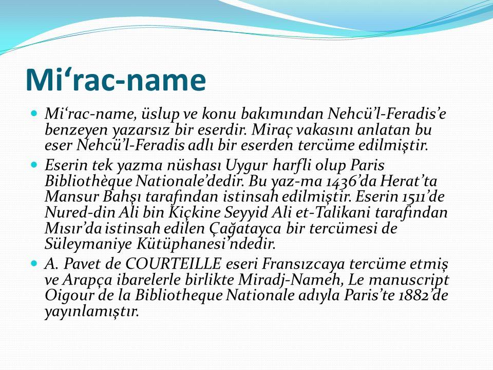 Mi'rac-name
