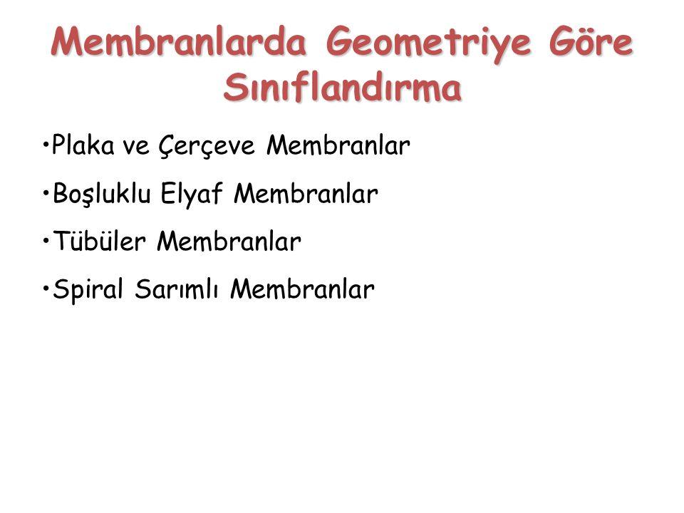 Membranlarda Geometriye Göre Sınıflandırma
