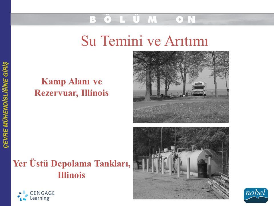 Kamp Alanı ve Rezervuar, Illinois Yer Üstü Depolama Tankları,