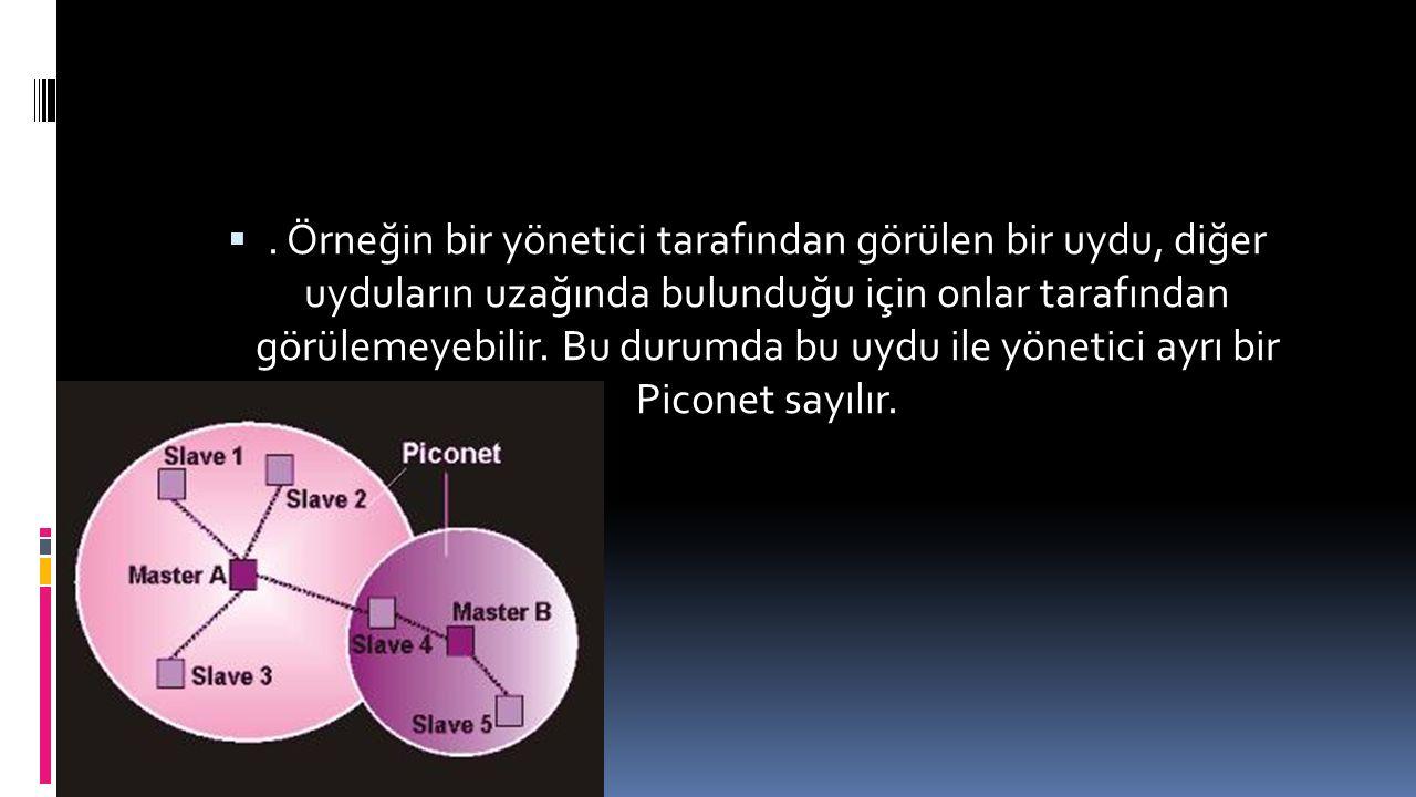 Örneğin bir yönetici tarafından görülen bir uydu, diğer uyduların uzağında bulunduğu için onlar tarafından görülemeyebilir.