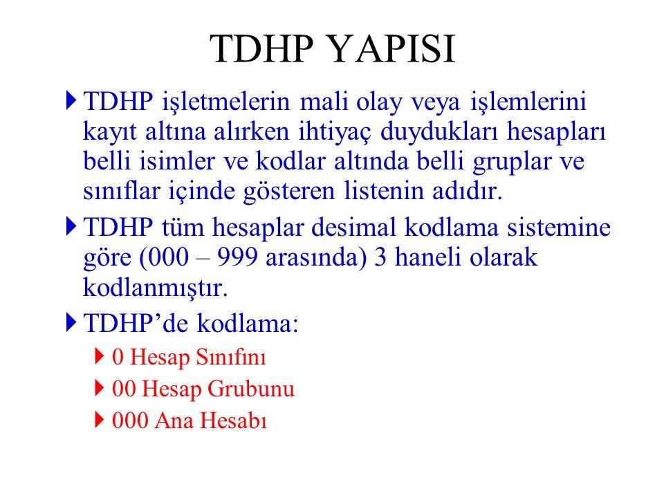 TDHP YAPISI