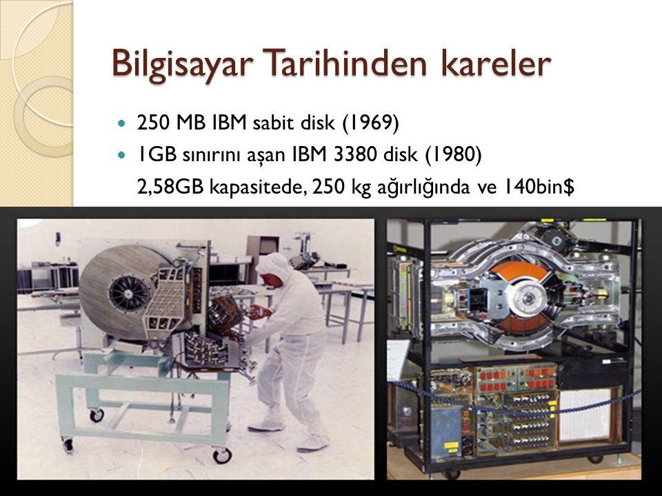 Bilgisayar Tarihinden kareler