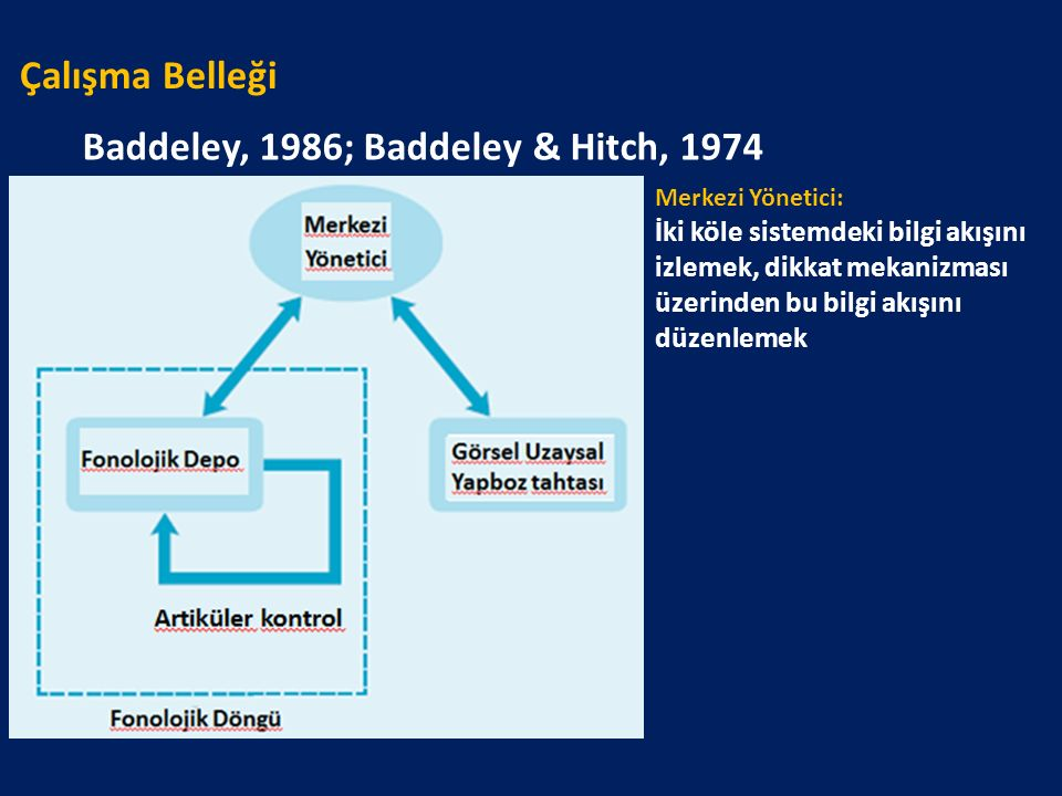 Baddeley, 1986; Baddeley & Hitch, 1974