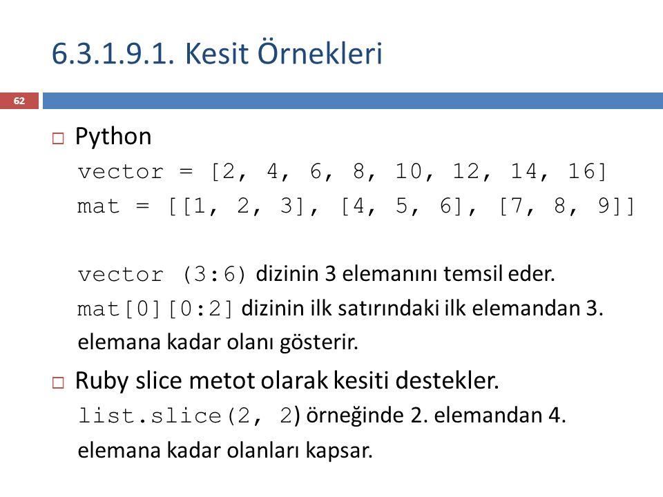 6.3.1.9.1. Kesit Örnekleri Python