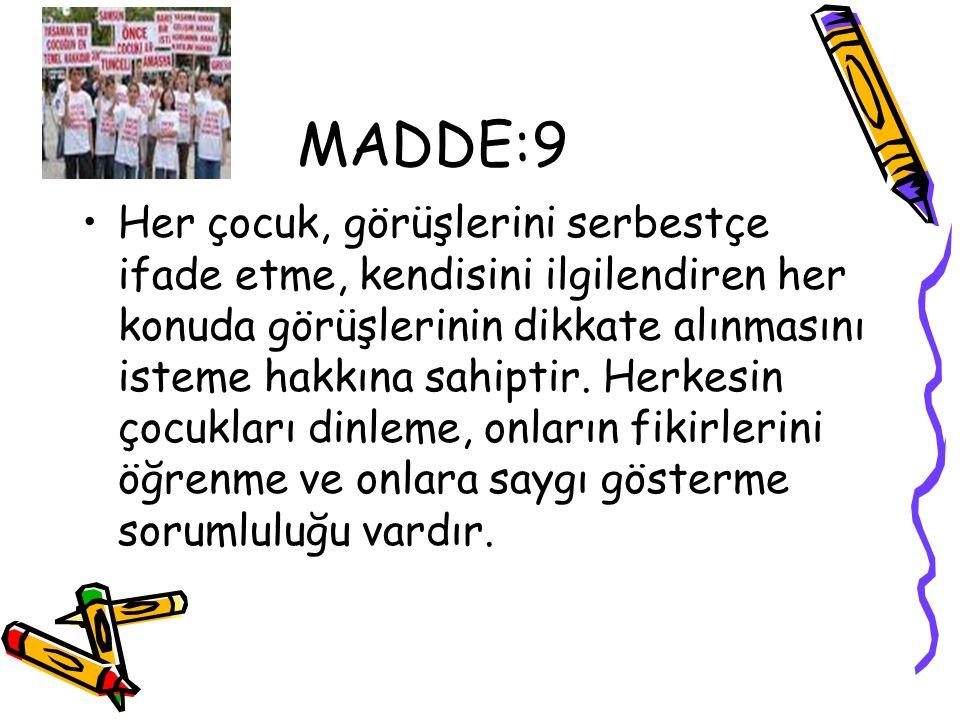 MADDE:9