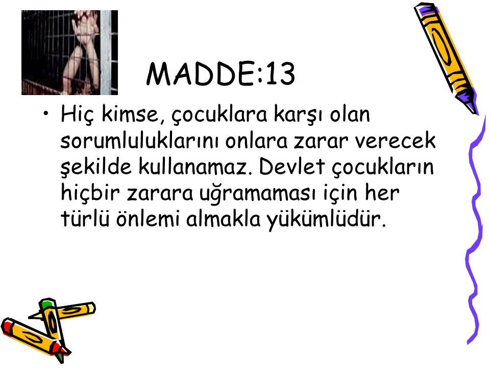 MADDE:13