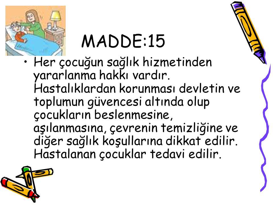 MADDE:15