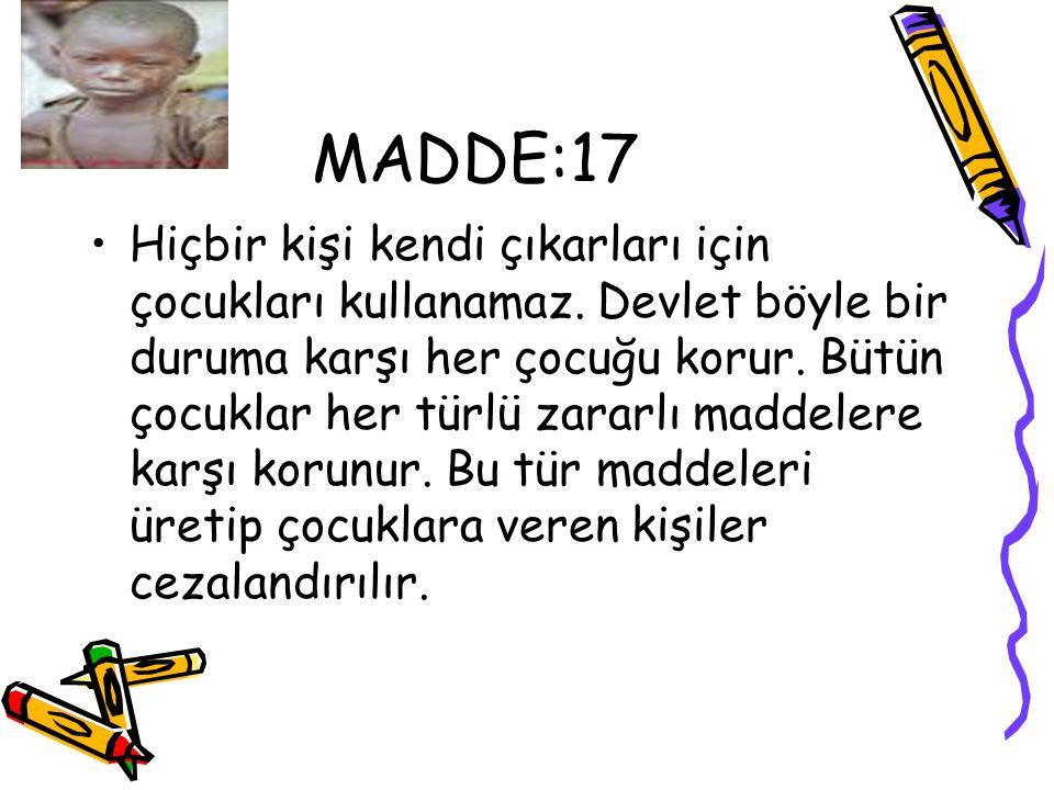 MADDE:17