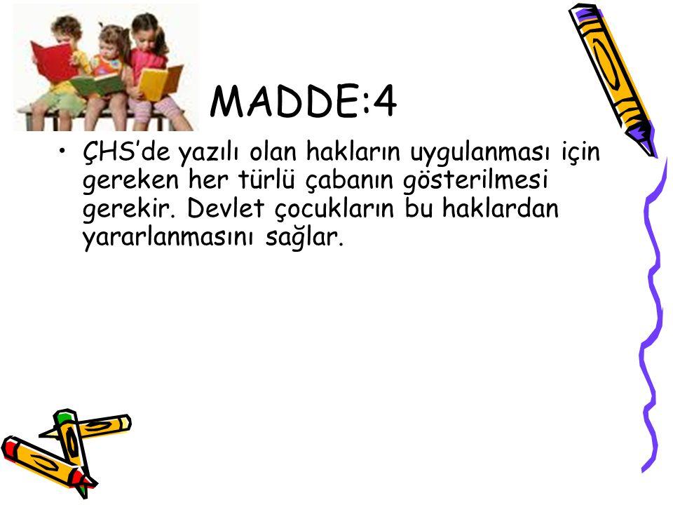 MADDE:4