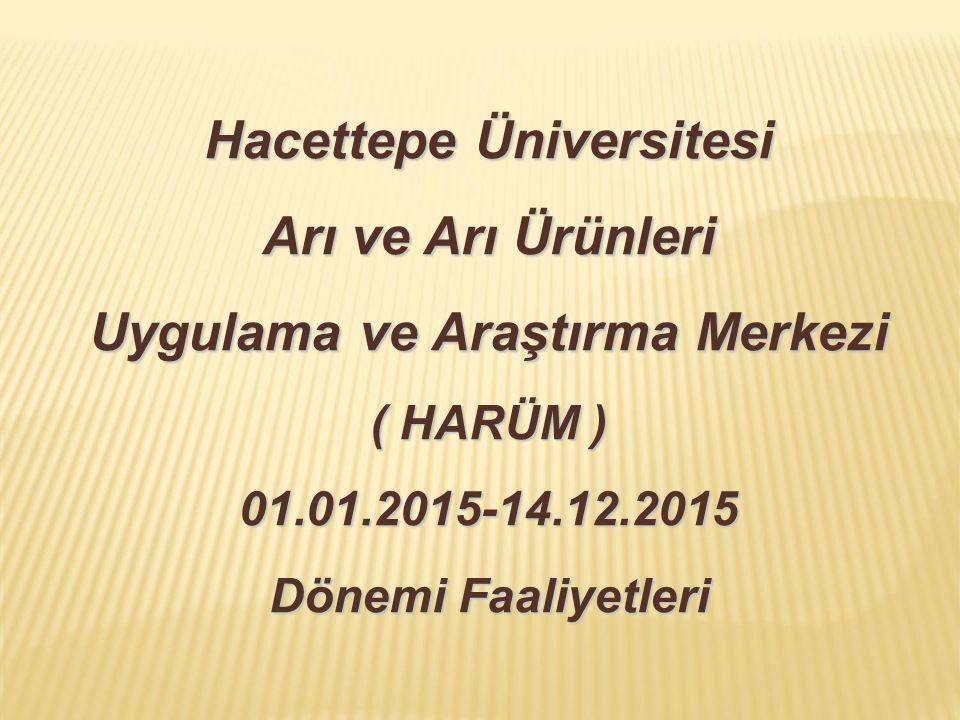 Hacettepe Üniversitesi Arı ve Arı Ürünleri