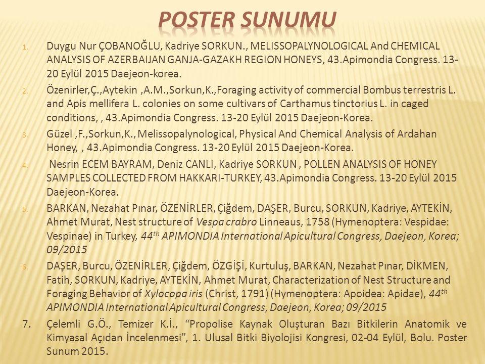 Poster Sunumu